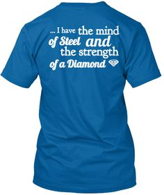 Love and support our disability T-Shirt Designs. It is a reminder that there is great strength in  disability.  Limited Edition!   ****Not Available in Stores****