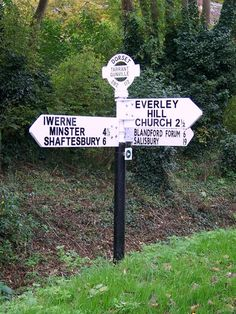 Finger sign posts - Dorset