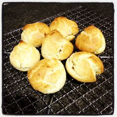 Choux pastry profiteroles - Thermomix recipe