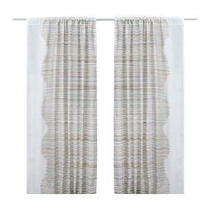 MALIN TRÅD Curtains, 1 pair - IKEA