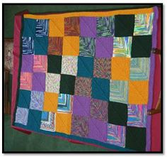Yes! Suna Knits!: Mitered Square Blanket Pattern