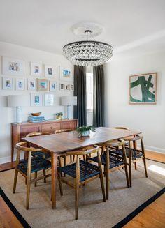A Designer Transforms Her Bestieu0027s Boston Home. Cuisine EclectiqueLu0027éclairage  ...