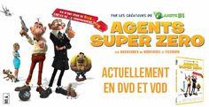 [Concours] Tentez de gagner des DVD de Agents Super Zéro | Ciné-média, critiques films et séries, tests DVD et Blu-Ray, actualités cinéma et TV