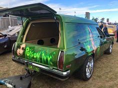 Australian Muscle Cars, Aussie Muscle Cars, Holden Australia, Panel Truck, Year 2016, Custom Vans, Bobbers, Hot Cars, Hippy