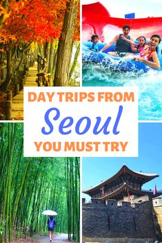 There are so many great day trips from Seoul you must try out. Find out the top 10 day trips from Seoul right here and make the most of your travel in South Korea. Including the DMZ, Nami Island, Hwaseong Fortress, Jeonju Hanok Village, Seoraksan and more. Don't miss the best day trips from Seoul. #seoul #daytrips #seouldaytrip #southkorea #korea #koreantravel #southkoreatravel