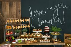 """Cute wording: This could be cute title for the shower on invites. """"I Love You A Brunch"""" with sunflower theme!"""