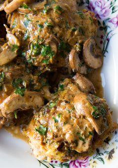 Chicken Normandy.