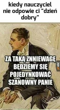 Wszystkie memy z neta :v # Humor # amreading # books # wattpad Very Funny Memes, Wtf Funny, Funny Jokes, Hilarious, Funny Images, Funny Pictures, Polish Memes, Weekend Humor, Funny Mems