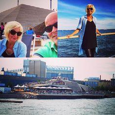 Tsekattiin Löyly! Wau! Kuin muurahaispesä Hernesaaren rannassa Helsingissä #löyly #loyly #löylyhelsinki #visithelsinki #hernesaari #marival #helsinki #helsinkibysea