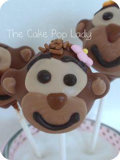 monkey cake pops brooklyns birthday