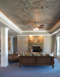 Ceiling Mural Design Ideas Pictures Remodel And Decor New England