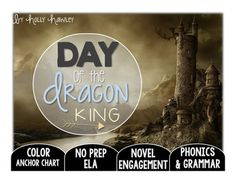 This packet is PRINT and GO ready! No time spent laminating, cutting, or setting up. Print and your kids are ready to use engaging ELA activities that follow K-2 ELA standards with the Magic Tree House series: Day of the Dragon King! This set is perfect for