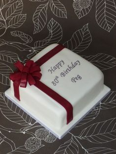 New Birthday Cake For Women Elegant Sheet 65 Ideas Elegant Birthday Cakes, Birthday Cakes For Men, Birthday Cake For Women Elegant, Square Birthday Cake, Birthday Sheet Cakes, Cake Birthday, Dad Cake, Cakes For Women, Square Cakes