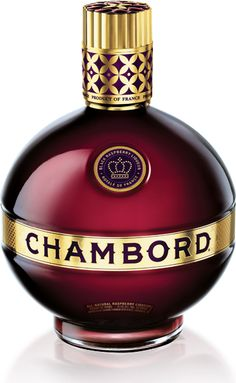 Chambord Black Raspberry Liqueur  Not only is this liqueur a perfect Valentine's Day libation, the bottle itself can be equally as romantic as the drink. While most people lean towards things like cherries and strawberries when considering Valentine's Day fruits, raspberries and blackberries can lend a subtle sweetness and bright flavor, which Chambord showcases perfectly. Drink this on the rocks by itself, or mix with a nice, floral gin (try Nolet's Silver) and love will be in the air.
