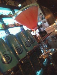 My signature martini 1oz hypnotic 1oz xrated 1oz coconut rum 2oz pinneapple juice