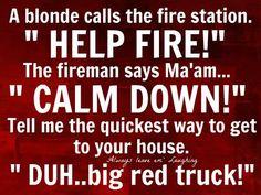 Big red truck joke