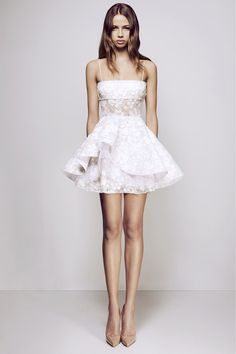 Alex Perry - Alete Lace Mini Dress - Gowns - Frockaholics / Online Shopping / Clothes Online / Shoes Online / Accessories Online