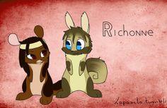 Michonne - Rick