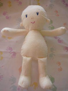 Soft Cloth Doll Patterns Free | Cloth Doll Sewing Pattern