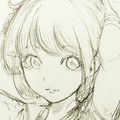 休憩〜 #illust #illustration #draw #drawing #doodle #manga #イラスト #絵 #落書き #アナログ #女の子