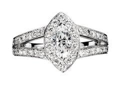 Bague de fiançailles Boucheron Solitaire Eternelle Grace diamants