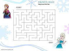 disney world fun printables - Yahoo Image Search Results Frozen Activities, Disney Activities, Craft Activities For Kids, Preschool Worksheets, Kindergarten Activities, Mazes For Kids Printable, Frozen Crafts, Frozen Kids, Activity Sheets