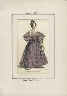 Ladies' Pocket Magazine August 1835 LAPL