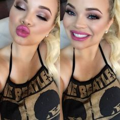 Trisha Paytas: blackbird singing in the dead of night , take these broken wings and learn to fly
