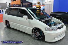 Honda Odyssey vtec Honda Van, Mini Vans, Vanz, Honda Odyssey, Mini Trucks, Custom Vans, Car Manufacturers, Buses, Jdm
