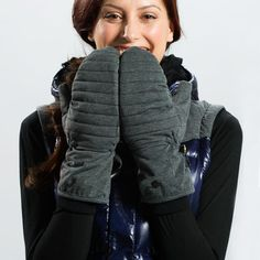 SKY MITTENS Get ready for a snowball fight! Your hands will stay warm and dry in our new eco-friendly Heather Knit, a breathable, wind- and waterproof fabric with a durable water-repellent treatment. Oh… and you'll look fabulous too! Snowball Fight, Genderqueer, Waterproof Fabric, Hand Warmers, Christmas Presents, Stay Warm, Eco Friendly, Glow, Winter Jackets