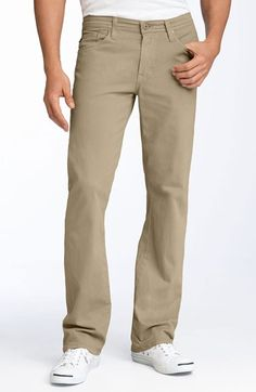 AG pants in a variety of colors.