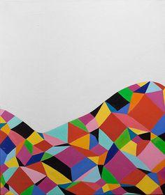 Andrew Masullo | 5266, oil on canvas, 24 x 20 inches