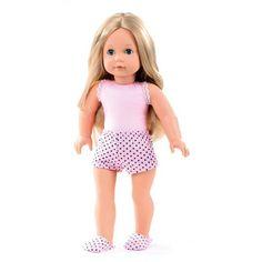 GOTZ  Precious Day to Dress Doll 46cm#toys2learn#gotz#doll#46cm#blonde#hair#girl#dress#to#precious#day#australia#
