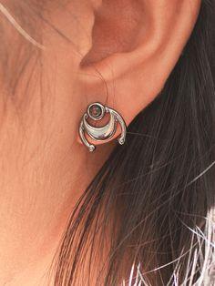 Boho Jewellery by Shop Dixi Bohemian Rings, Bohemian Jewelry, Gothic Chokers, Jewelry Website, Moon Necklace, Sterling Silver Rings, Diamond Earrings, Jewelry Design, Jewels