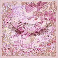Scarf 90 Hermès | Flamingo Party