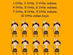 Ten Little Indians and Pow Wow Songs and Videos for ActivBoard