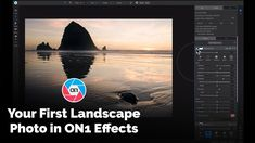Learn how to stylize and modify your first landscape photo in Effects See where the tools and filters live inside Effects and how to use them. First we will crop our photo and then we will add different creative filters to modify the look of our image.