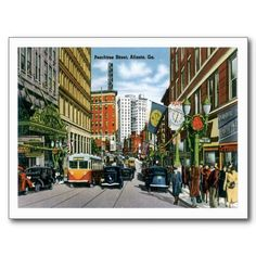 Buy postcards atlanta