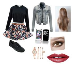 """Untitled #10"" by dreairwin on Polyvore featuring Keds, LE3NO, Fiebiger and Anne Klein"