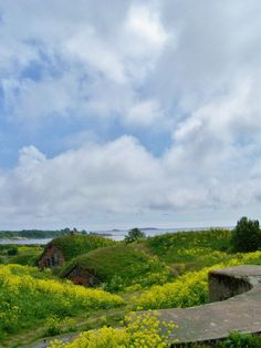 Look-A Real Shire! this place is amazing!  Also, A U.N.E.S.C.O. World Heritage Site Suomenlinna, Helsinki, Finland