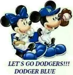 Let's go Dodgers Dodgers Gear, Let's Go Dodgers, Dodgers Shirts, Dodgers Baseball, Football, Dodger Blue, Go Blue, Los Angeles Dodgers, Mickey Mouse