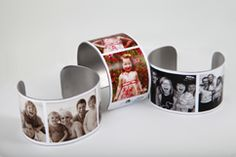 Picture Bracelet...because you cannot have too many pictures of your kids! +they Give Back! Cool Gifts, Creative Gifts, Best Gifts, Awesome Gifts, Creative Ideas, Armband, Holiday Gifts, Christmas Gifts, Merry Christmas