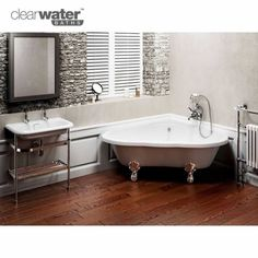 You pinned it! Thanks :-) Available from www.ukbathrooms.com  Clearwater Heart Freestanding Corner Bath (want it want it want it)