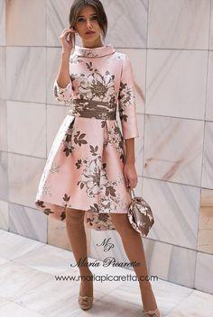 Moda vestidos fiesta cortos New Ideas Lovely Dresses, Elegant Dresses, The Dress, Dress Skirt, Jw Mode, Short Dresses, Prom Dresses, Groom Dress, Evening Dresses