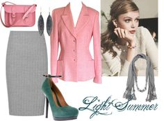 """Light Summer""- Polyvore Creation"