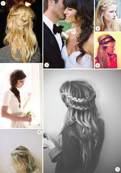 Wearing Braids On Your Wedding Day
