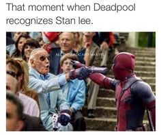We long for this cameo... #stanlee #deadpool / http://saltlakecomiccon.com/slcc-2015-tickets/?cc=Pinterest