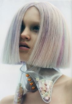 "In the ""Soft Pop"" trend dying hair will be something that is seen. I do not think that it will be something super major, to be done. If it is done it will be something that is a very light color that can be a statement, but can also blend in."