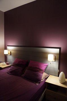 1000 ideas about t tes de lit faits maison sur pinterest for Tete de lit en bois fait maison