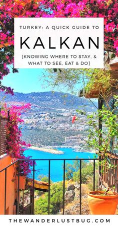 A quick, no nonsense guide to Kalkan, Turkey. Telling you what to do in Kalkan, where to stay, eat, go and how to get there. Featuring Kaputas beach, Saklikent Gorge, the sunken city, Patara Prince beach club, various different activities, Belgin's Kitchen rooftop restaurant, Mey & Meze, Gusto & Villa Sapphire.